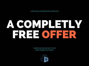 a completly freeoffer