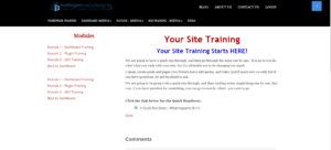 Of course you want website training