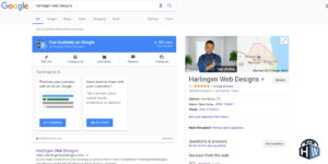 Harlingen Web Designs knows the importance of Google My Business
